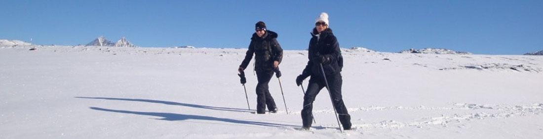 Schneeschuhwanderung - Matterhorn Glacier Trail