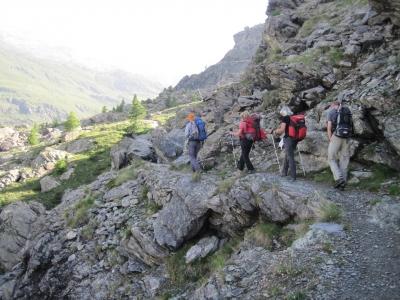 Alagna - Passo Turlo - Val Quarazza - Macugnaga