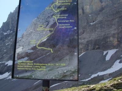 2. Tag: Grindelwald - Alpiglen - Eigertrail - Eigergletscher - Kleine - Scheidgg - Wengen - Mürren