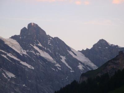 5. Tag: Blüemlisalphütte - Oeschinensee - Kandersteg - Gasterental