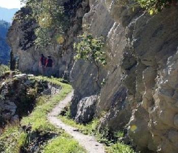 Lötschberger Südrampe - Abschnitt Lalden - Naters