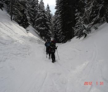 Schneeschuhwanderung im «Gampjärhimmel»