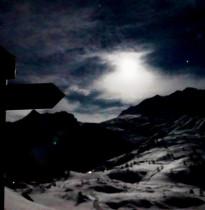 Simplon im Mondschein