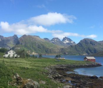 Bergwelt der Lofoten